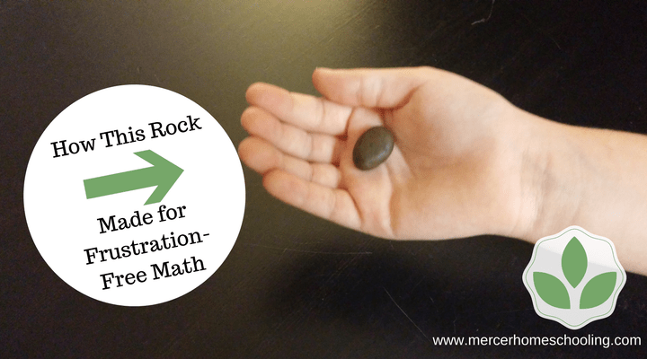 This rock reduces math-time frustration