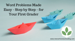 Word Problems Made Easy for First Grade