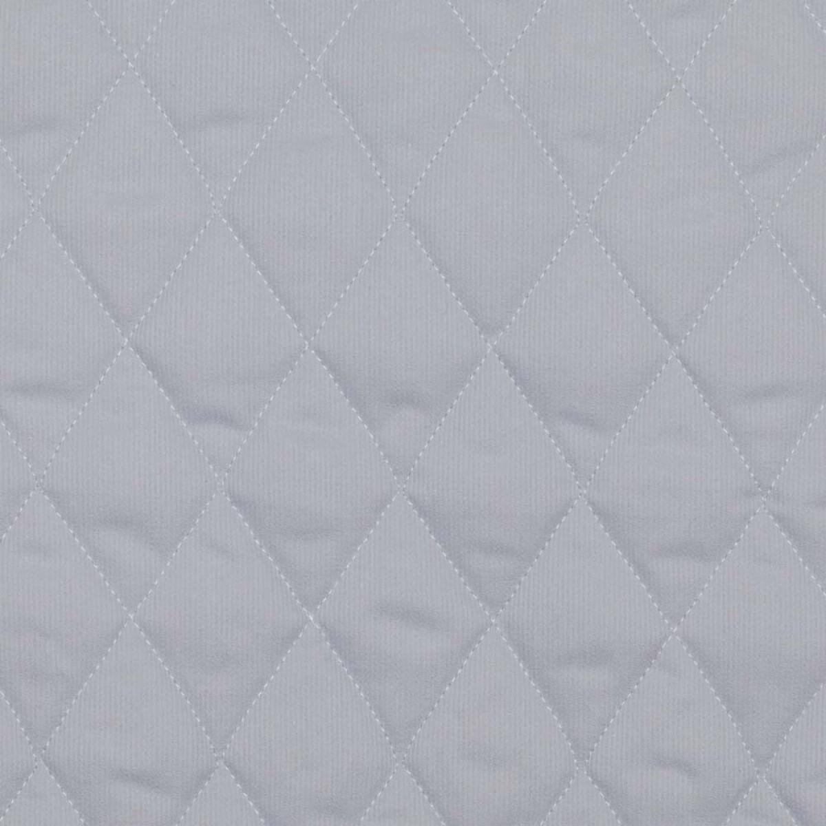 tissu pique de coton matelasse uni