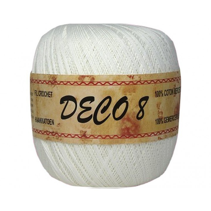 coton a crocheter deco 8 blanc mercerie floriane