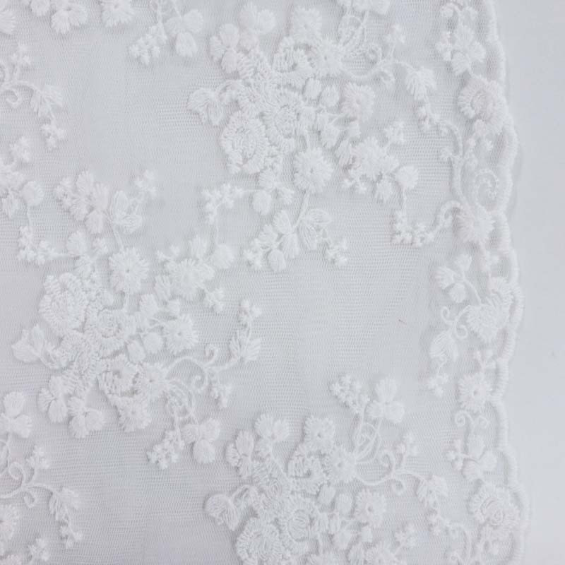 dentelle blanc perlina x10cm