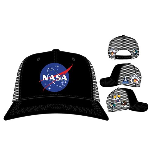 Official NASA Trucker Cap Patches: Buy Online on Offer