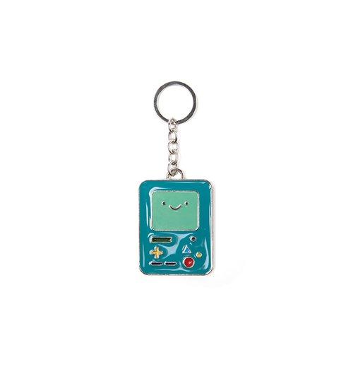 Adventure Time - Beemo Metal Keychain Metal Keychains U Green bitcoin keychain Bitcoin Keychain img2