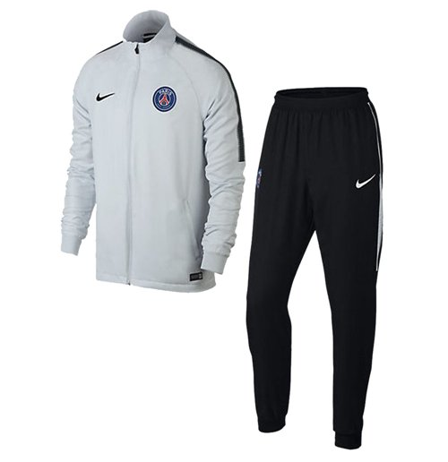 trainingsanzug paris saint germain 2017 2018 weiss