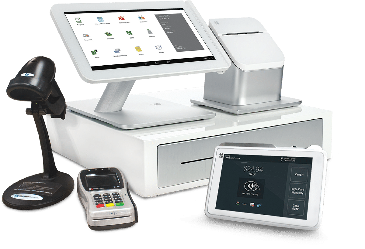 Raleigh Merchant Services Elite POS System
