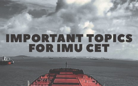 Important Topics For IMU-CET