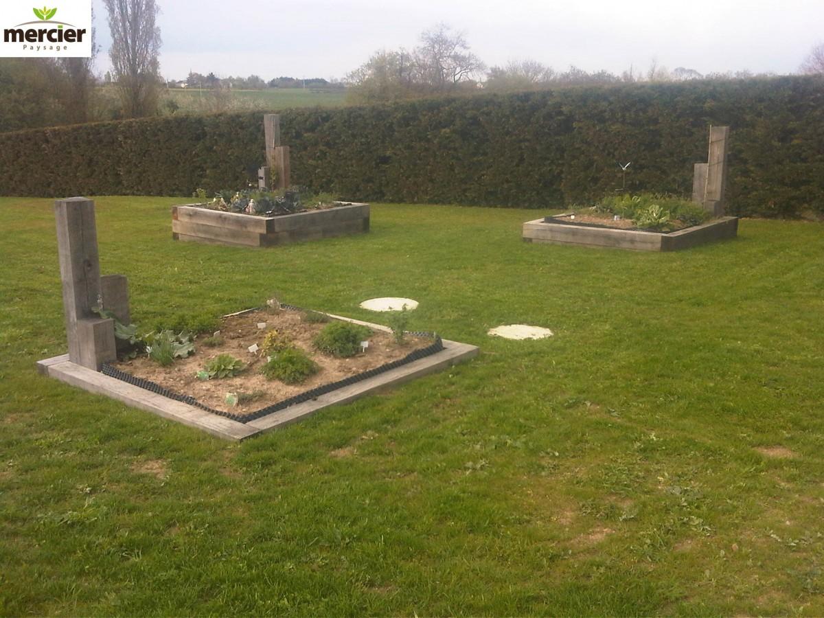 Plantations jardins potagers mercier paysage paysagiste for Entretien d un jardin potager