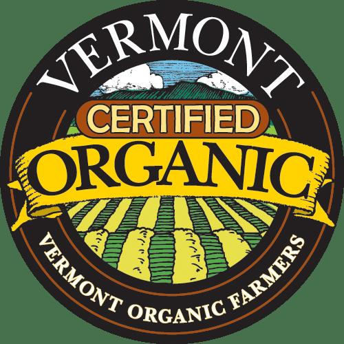 Vermont certified organic