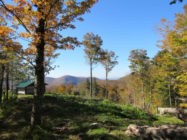 vermont mountain view