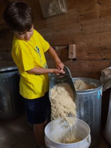 Farm life, children, chores, kids, visit
