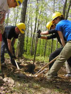 trailwork, maintenance, safety