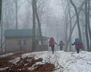 winter vermont cabin rental