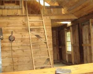 cabin interior vermont rental
