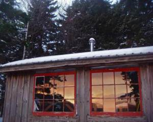 winter cabin rental vermont