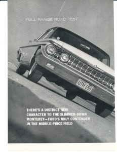 1961 Mercury Road TestPg 1