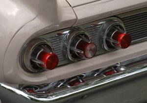 1961 Mercury Meteor 800 tail lights