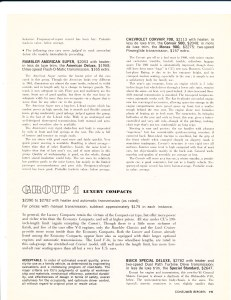 Consumer Reports April 1961 Auto Buying Guide Pg 4