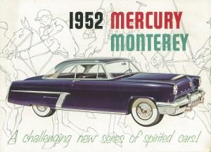 1952 Mercury Monterey Pg 1