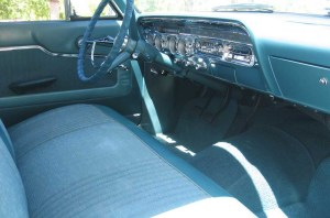 1962 Meteor instrument panel