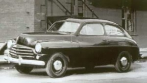The smaller 1949 Ford