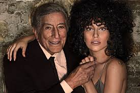 Tony Bennett and friend, Stefani Germanotta
