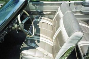 1963 Mercury Monterey Custom interior