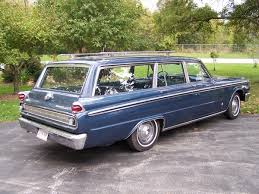 1963 Mercury Meteor Custom station wagon