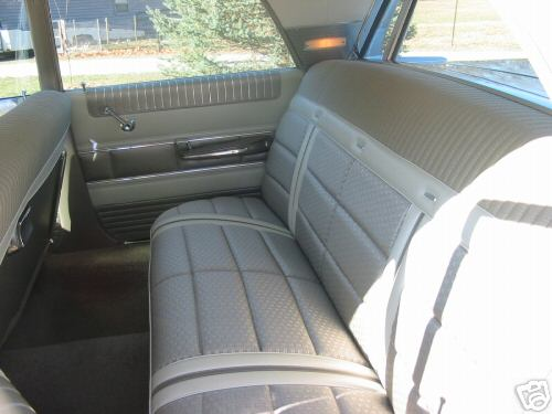 1963 Mercury Monterey Custom upholstery | Mercury Automobile