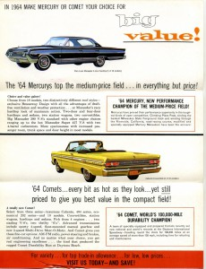 1964 Mercury Foldout-Side 2