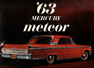 1963 Mercury Meteor Cover