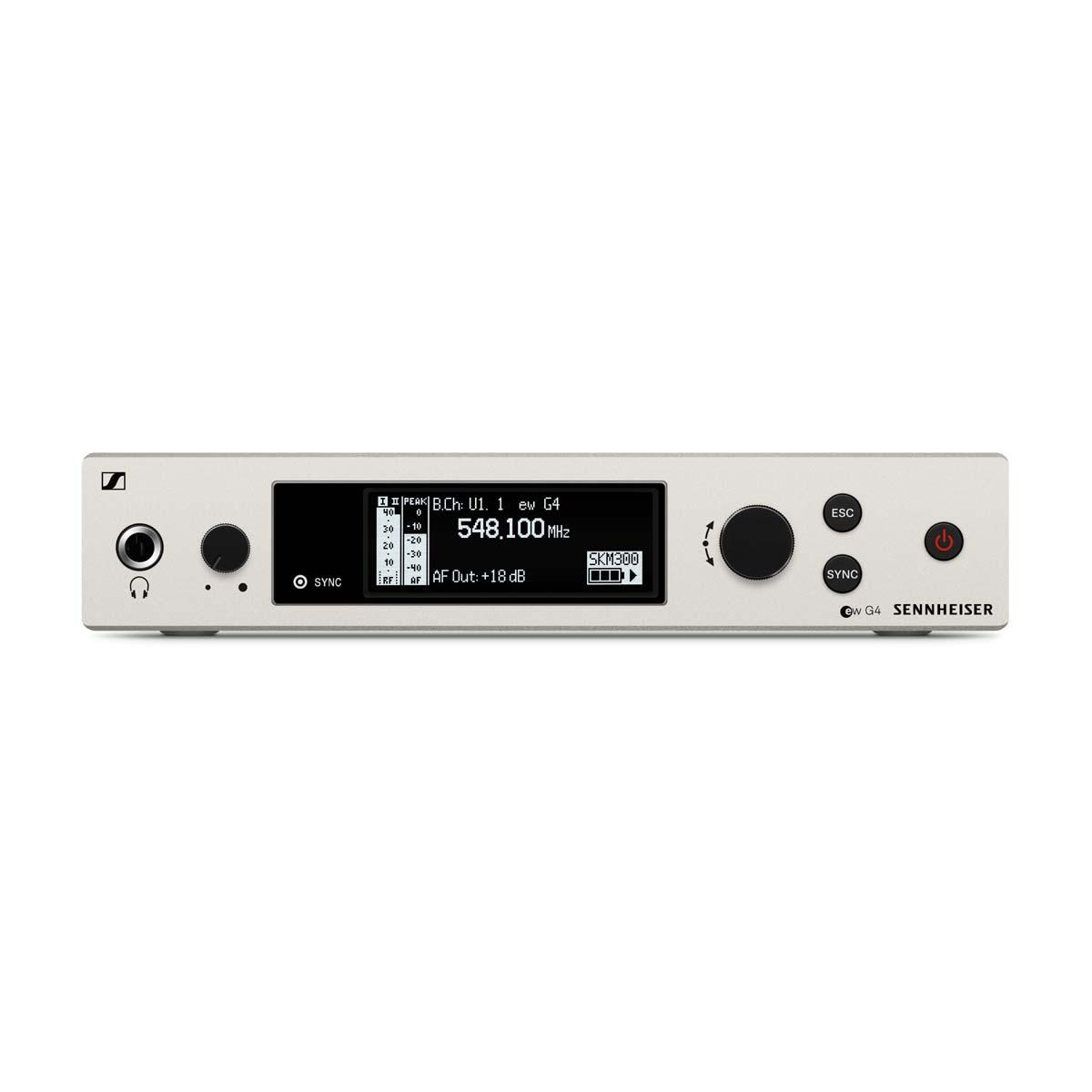 sennheiser em 300 500 g4 range dw rackmount receiver