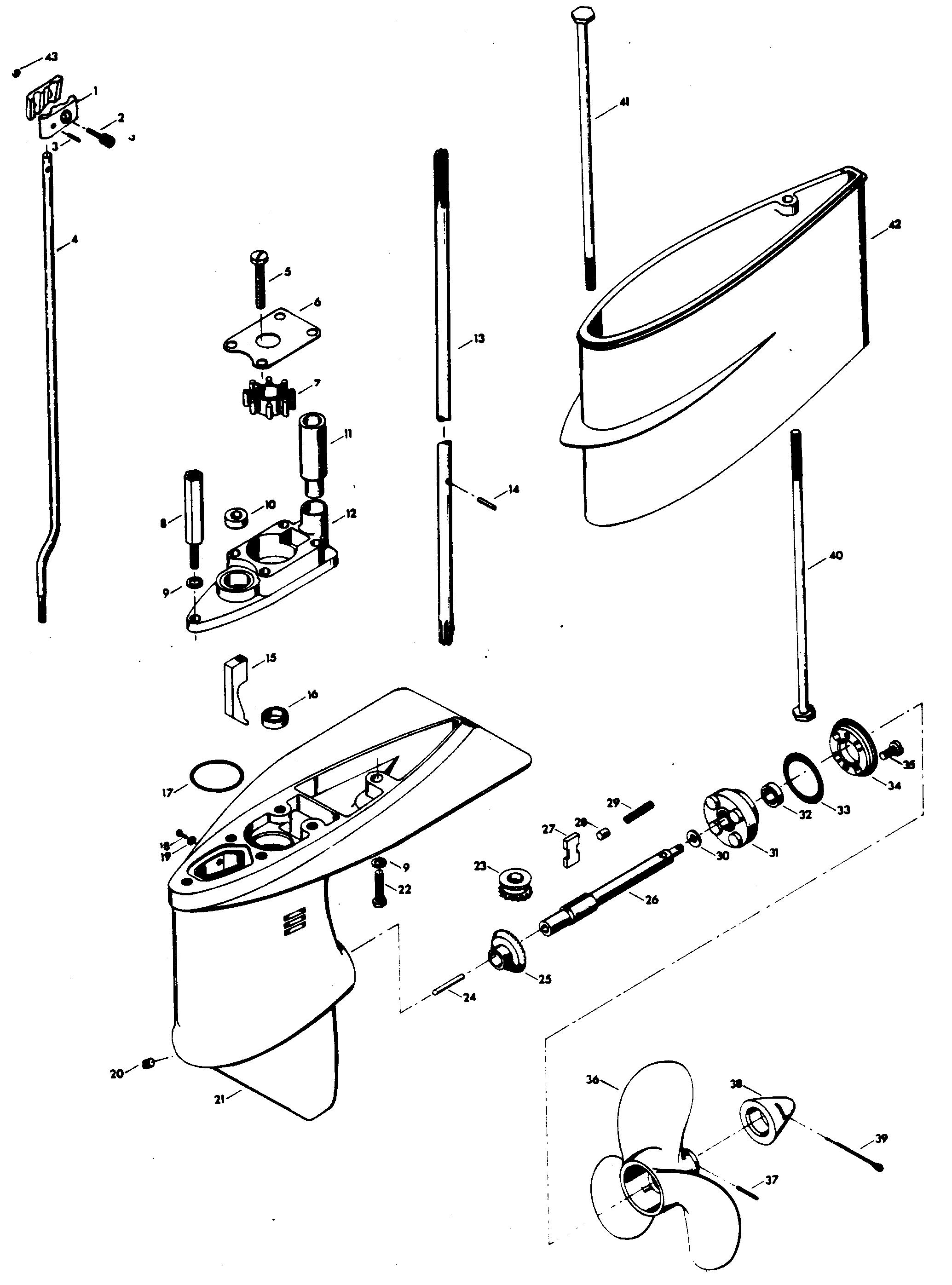 Chrysler 105 hp marine wiring diagram