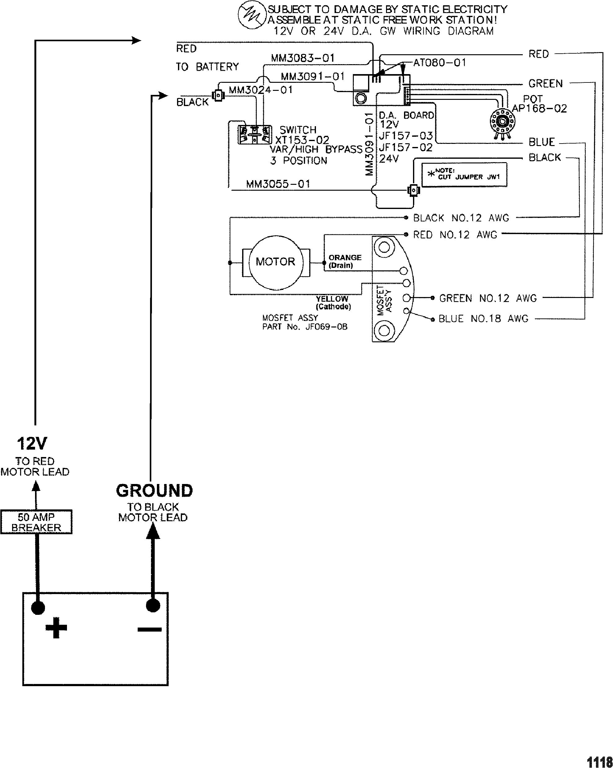 Wiring Diagram Motorguide Tracker 40