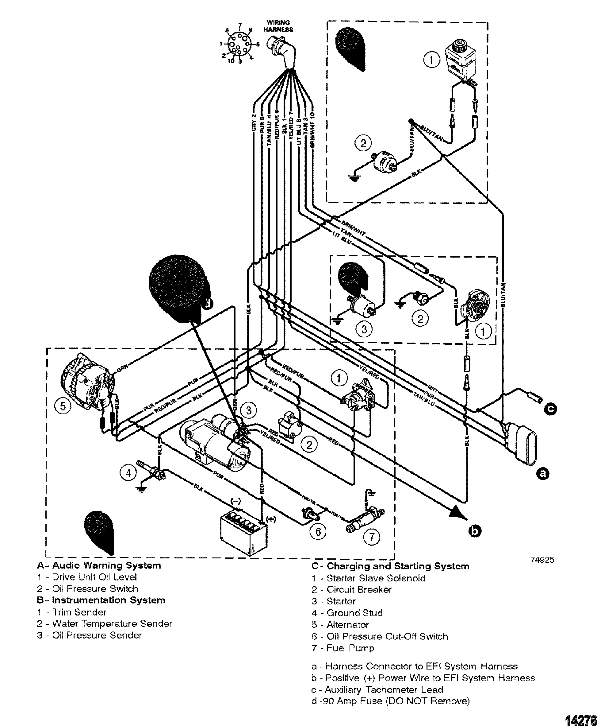 Mercruiser Electrical System Wiring Diagrams Engine