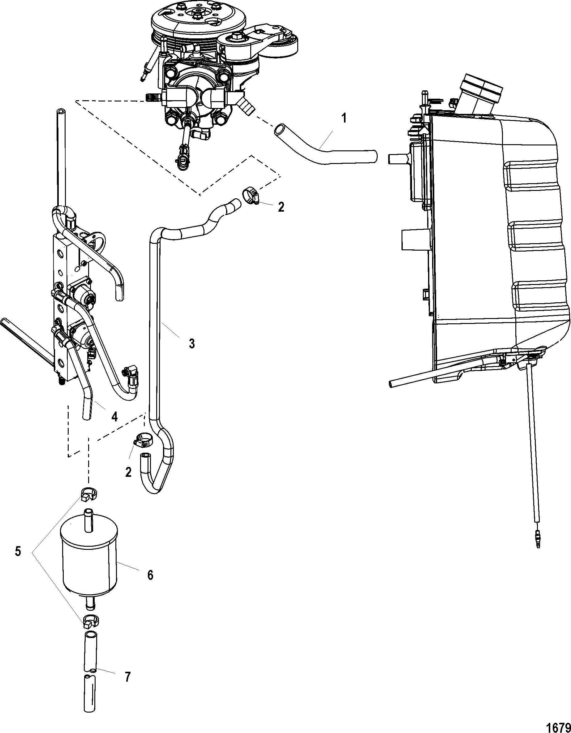 Mariner 75 Dfi 3 Cyl 1 5l 1b