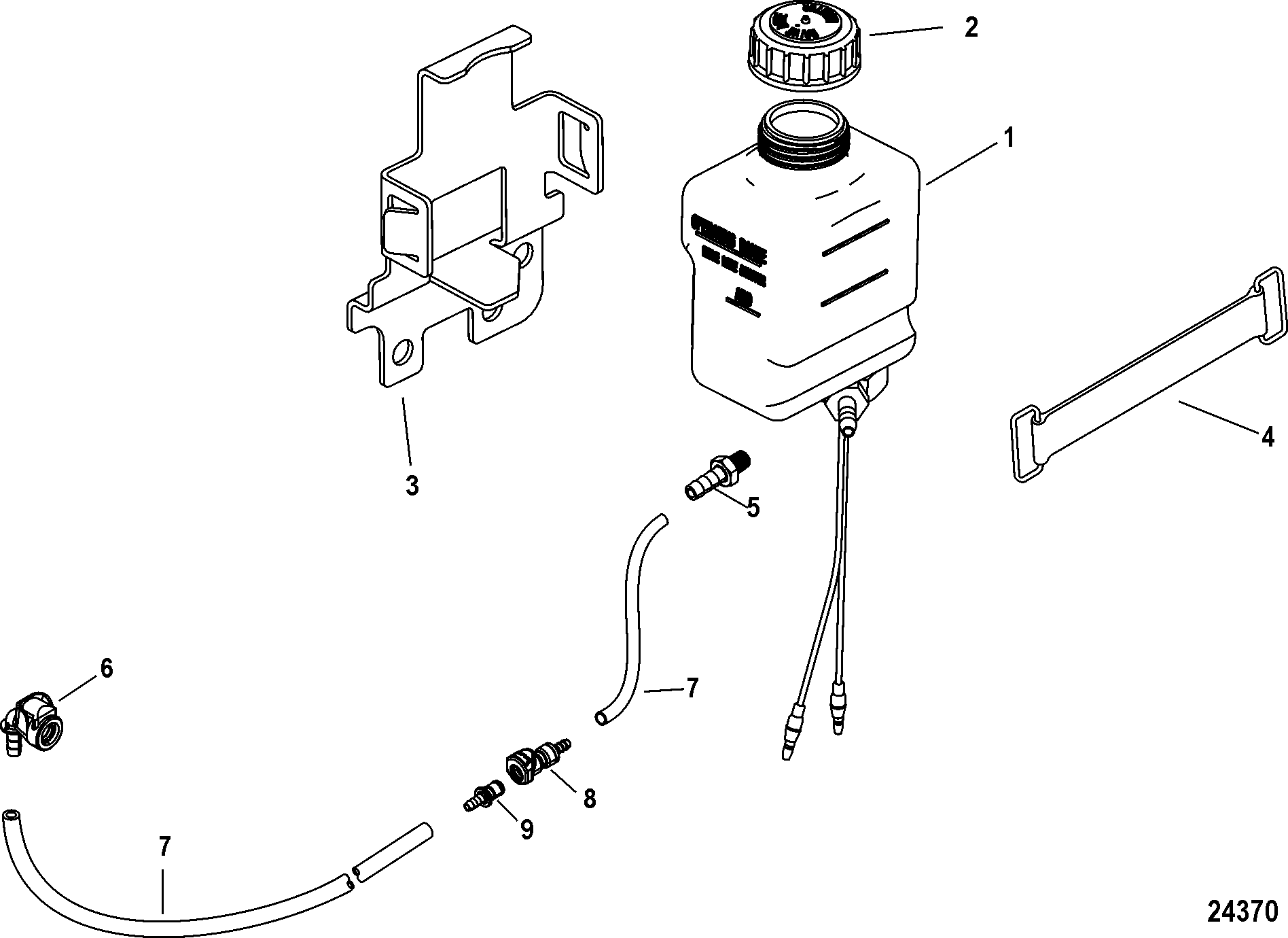 Mercruiser 496 Mag H O Model