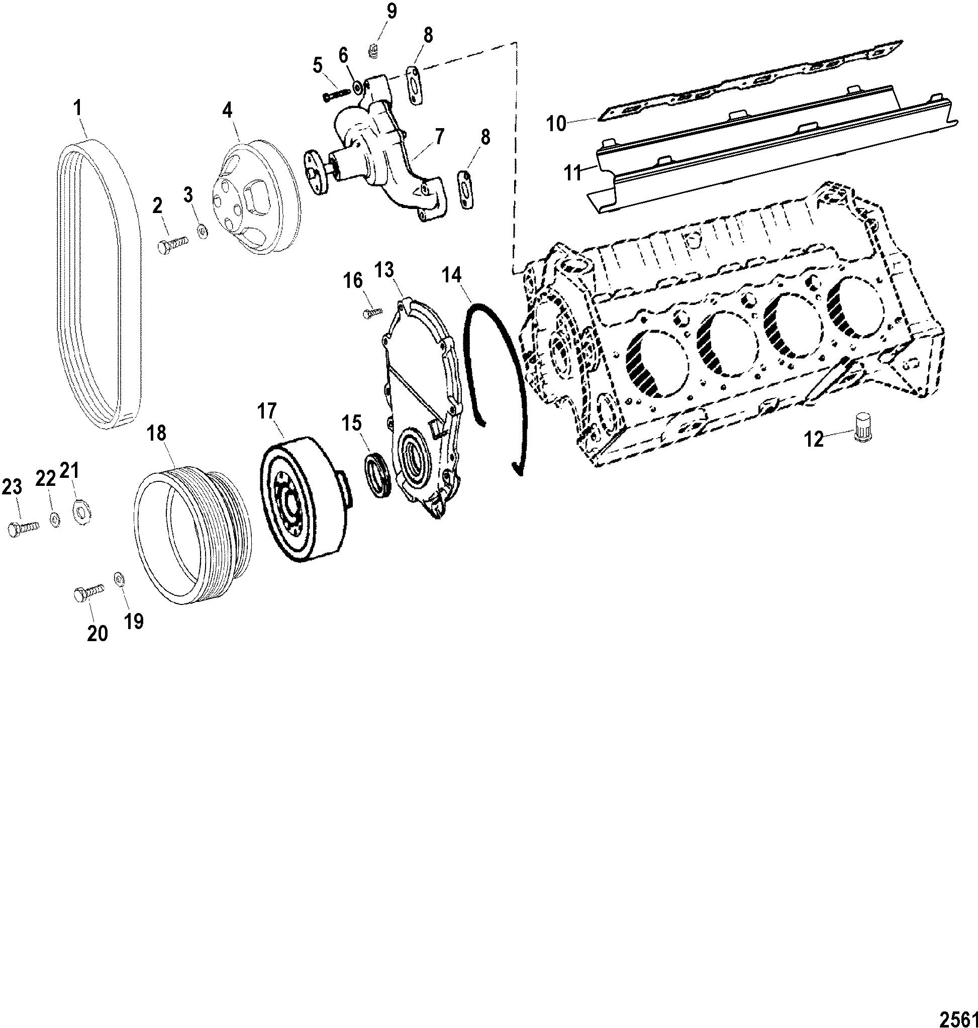 Race Sterndrive 575 Sci 0m Thru