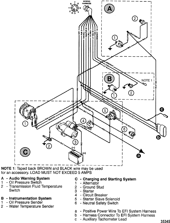 Mercruiser 5 7l Efi Mie Gm 350
