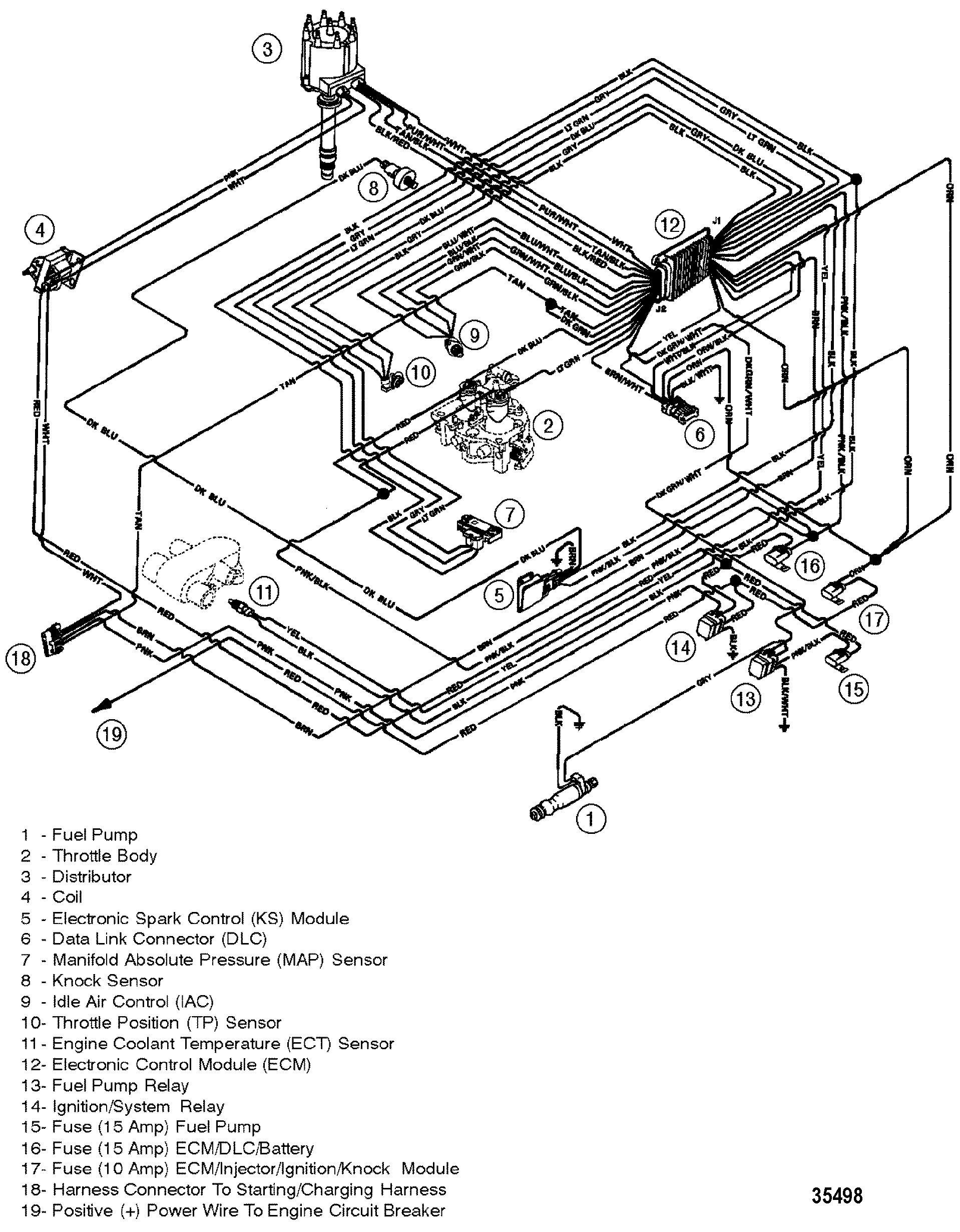Mercruiser 5 0l Efi Gm 305 V 8