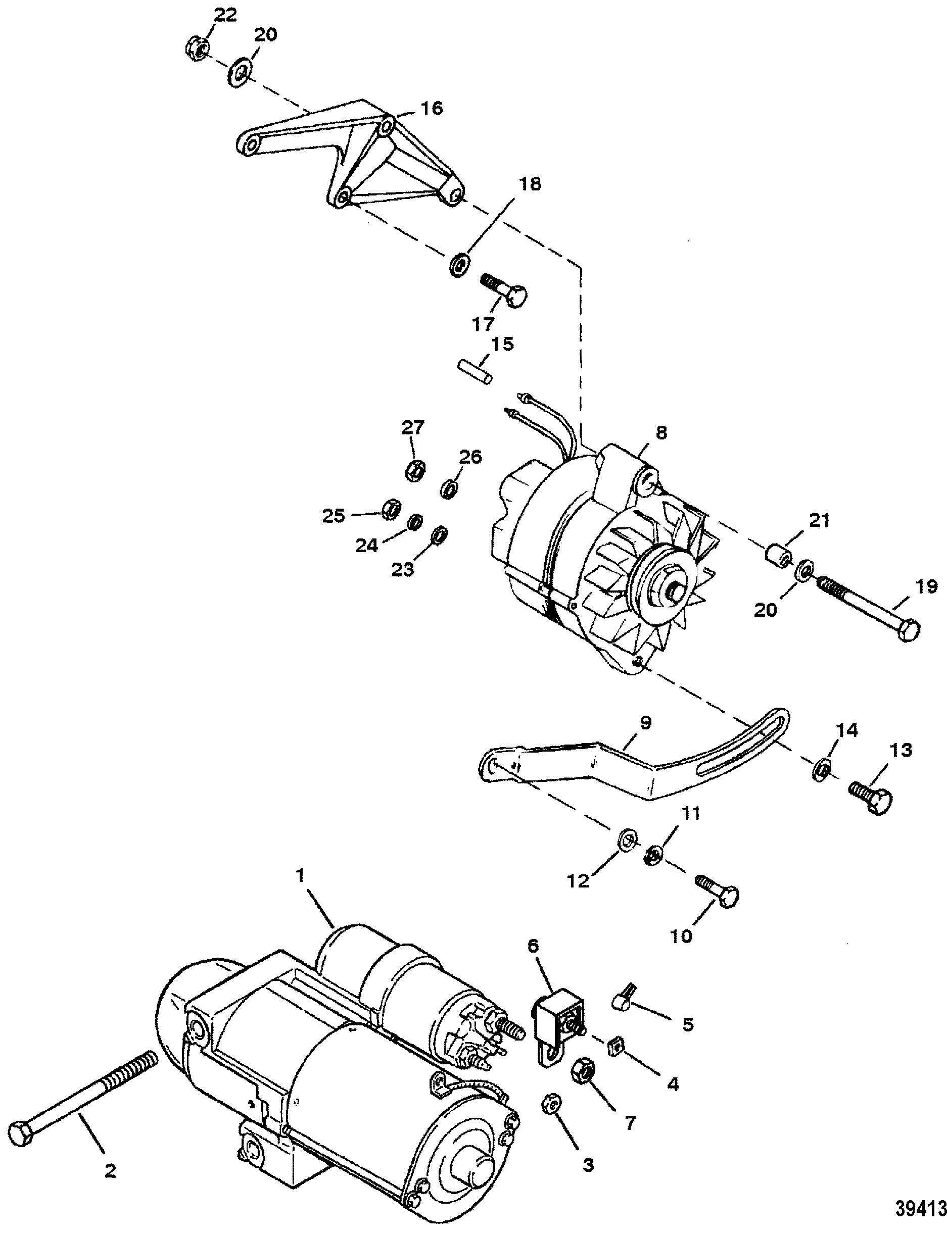 Moteur Mercruiser D254
