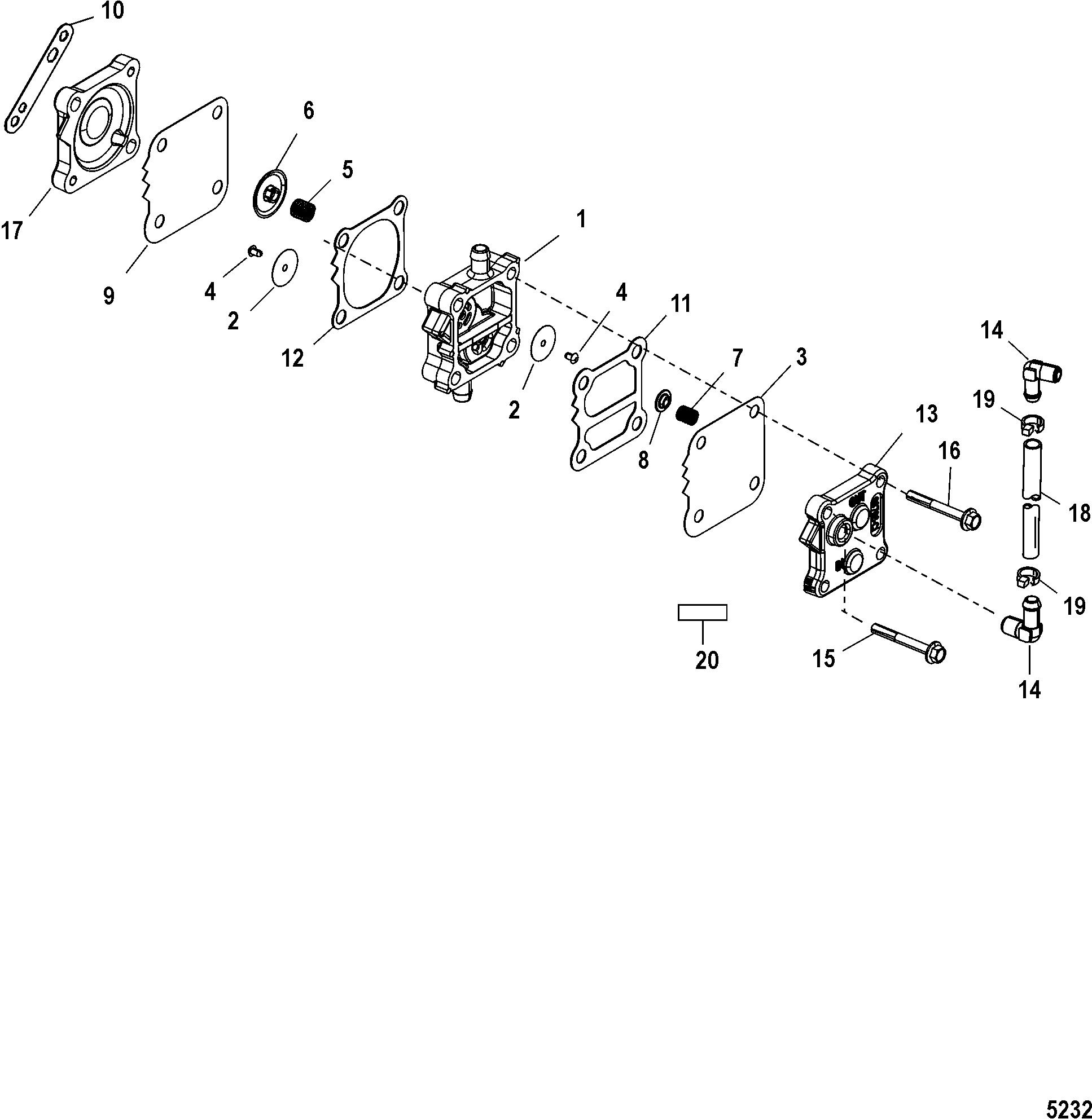 Mariner 140 Jet 0g Thru 0t