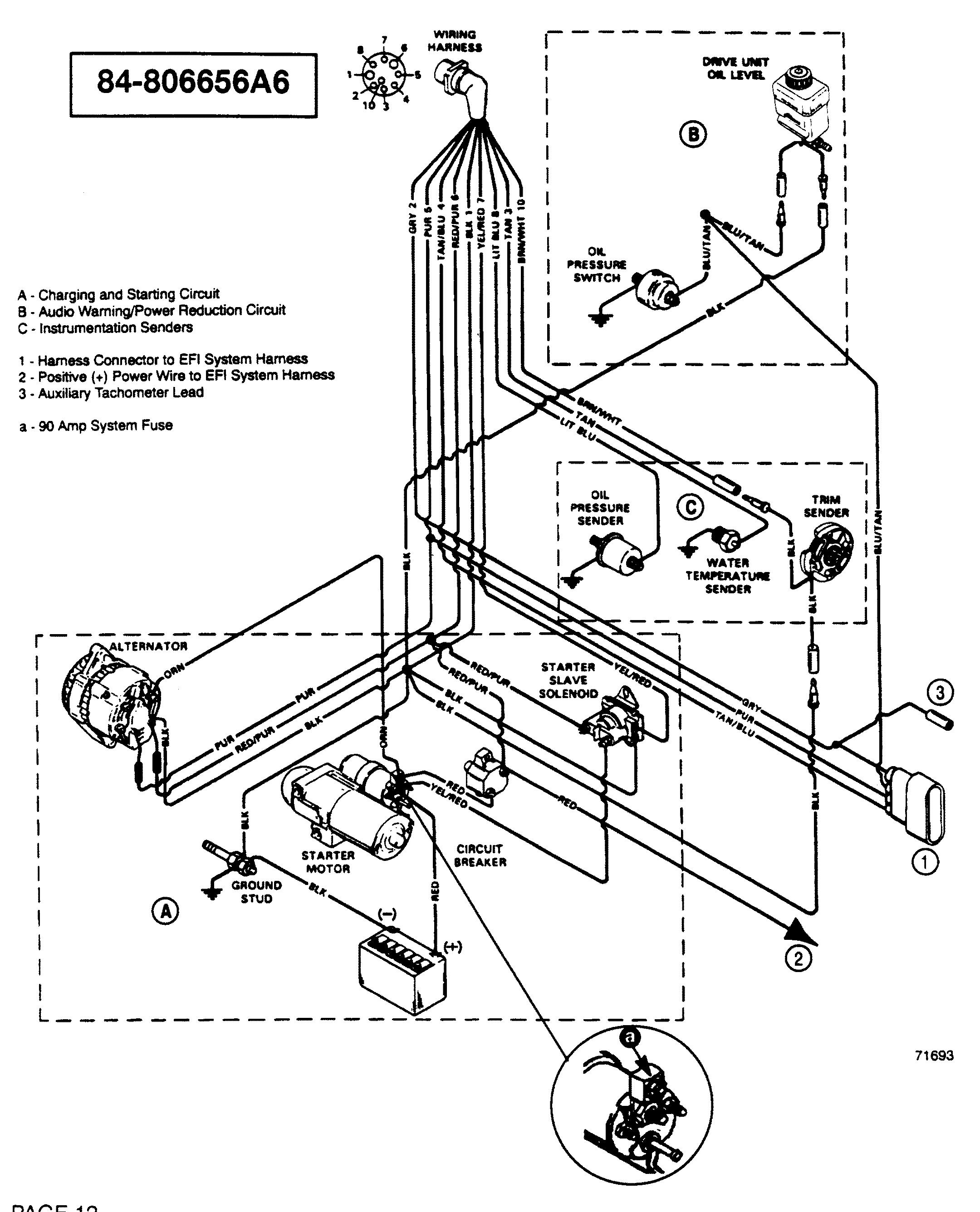 Mercruiser Wiring Harness
