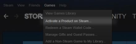 Active Steam Key Step 1