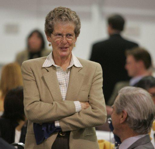 We re eager to get started, said Susan Hammer, center, the former mayor who will lead the new A s to San Jose Study Group along with businessman and former mayoral candidate Michael Mulcahy. We think the time is right. (Mercury News archive photo, 3/7/2007)