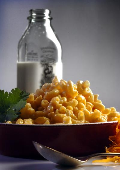 Macaroni and cheese, photographed in Walnut Creek, Calif., on Thursday, Sept. 30, 2010. (Mark DuFrene/Staff)