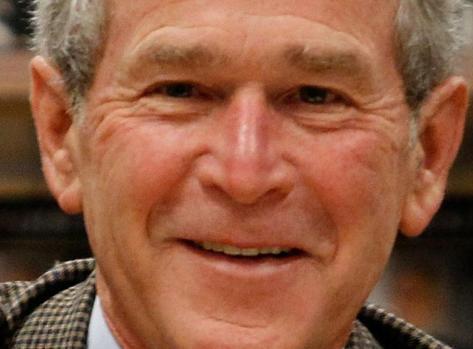 Grateful George W. Bush: Trump 'makes me look pretty good'