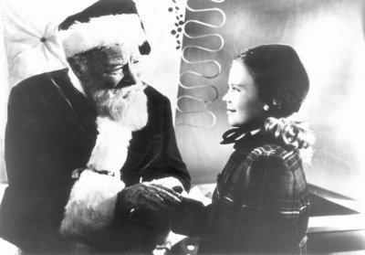 "Edmund Gwenn and Natalie Wood in ""Miracle on 34th Street"""