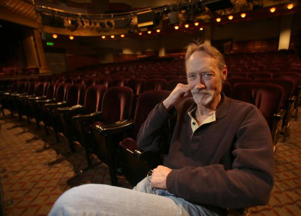 "Actor James Carpenter, of Oakland, is photographed at the American Conservatory Theater on Geary Street in San Francisco, Calif. on Thursday, Dec. 6, 2012. Carpenter is playing the role of Ebeneezer Scrooge in ACT's production of the Charles Dickens classic ""A Christmas Carol."" The show is running through Dec. 24. (Jane Tyska/Staff)"