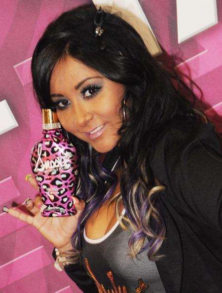NASHVILLE, TN - OCTOBER 15: Snooki attends the Snooki, by Nicole Polizzi Supre Tan launch during Smart Tan Downtown 2011 at the Nashville Convention Center on October 15, 2011 in Nashville, Tennessee. (Photo by Rick Diamond/Getty Images)