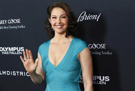Cast member Ashley Judd arrives at the premiere of the movie ''Olympus Has Fallen'' at the ArcLight Cinema in Hollywood, California March 18, 2013.